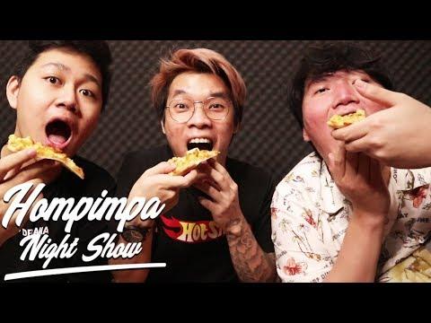 COBAIN PIZZA MURAH TAPI GAK MURAHAN - Hompimpa Night Show #MakanBwang