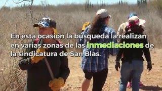 Rastreadoras y autoridades buscan más cuerpos en San Blas