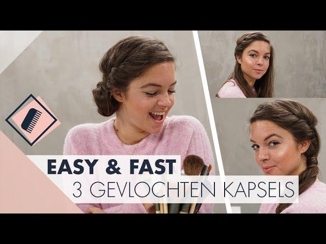 5 kapsels met vlechten l Easy & Fast