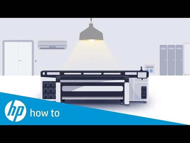 Jak przygotować miejsce instalacji dla drukarek HP Latex oraz HP Latex R