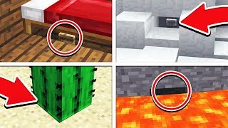 EXTREME FIND THE BUTTON MINECRAFT POCKET EDITION