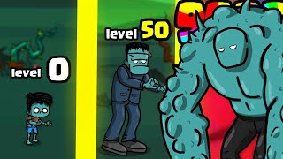 I evolved in THE STRONGEST ZOMBIE in Zombeat.io (NEW .IO GAME)