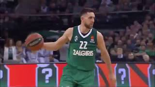 Zalgiris Backdoor Play(Baseline Cut)