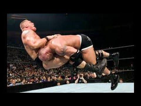 WWE Brock Lesnar vs The Rock Summerslam...