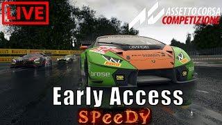 Assetto Corsa Competizione Livestream Early Access Lamborghini Huracan GT3 Gameplay [CH] Deutsch