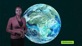 WEATHER FORECAST BY NANTEZA JULIET UBC TV 07 01 2020