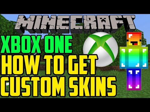 How To Get Custom Skins In Minecraft Xbox One - YouTube