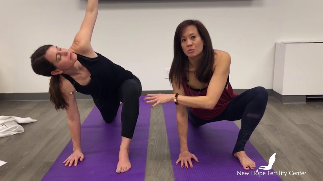 Yoga For Fertility Daily Routine Demo Youtube