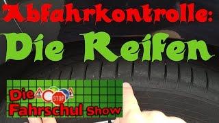 Abfahrtskontrolle Klasse B - Teil 6: Reifen (Fahrschule, Führerschein)