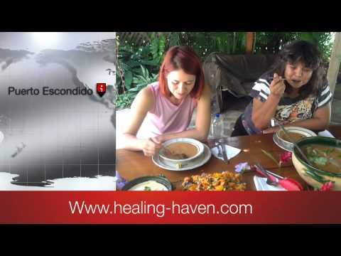Health retreat,  The Sanctuary in Puerto Escondiod