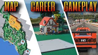 Forza Horizon 4 - LEGO Expansion | Full Map, House building & NEW Gameplay