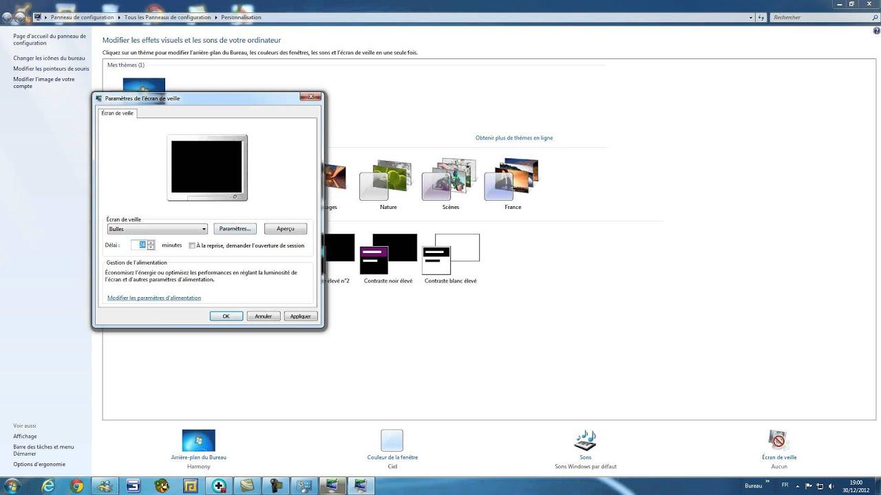 Comment mettre un ecran de veille a son pc gratuit sans for Ecran pc son