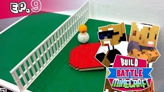 Minecraft - Build Battle /w mujdii   Masa de ping-pong! [Ep.9]