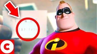10 Détails Incroyables Cachés Dans Les Indestructibles de Disney Pixar