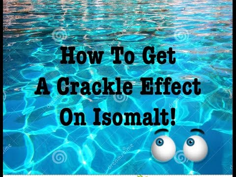 isomalt coral how to make
