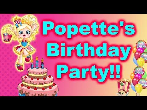 Shopkin Videos Popettes Birthday Party Shopkins Season 4cookie Swirl C Inspired