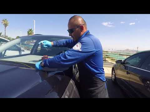 2017 Subaru Forester safe windshield replacement by Alfredo's auto glass