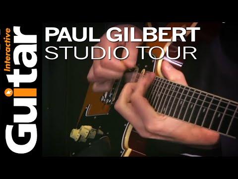 Paul Gilbert Interview | Studio Tour