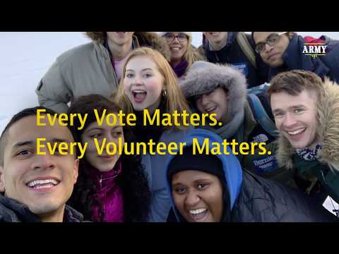EVERY Vote Matters. EVERY Volunteer Matters.