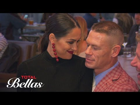 Cena acts suspiciously quiet around The Bella Family during a baby party: Total Bellas, June 24 2018