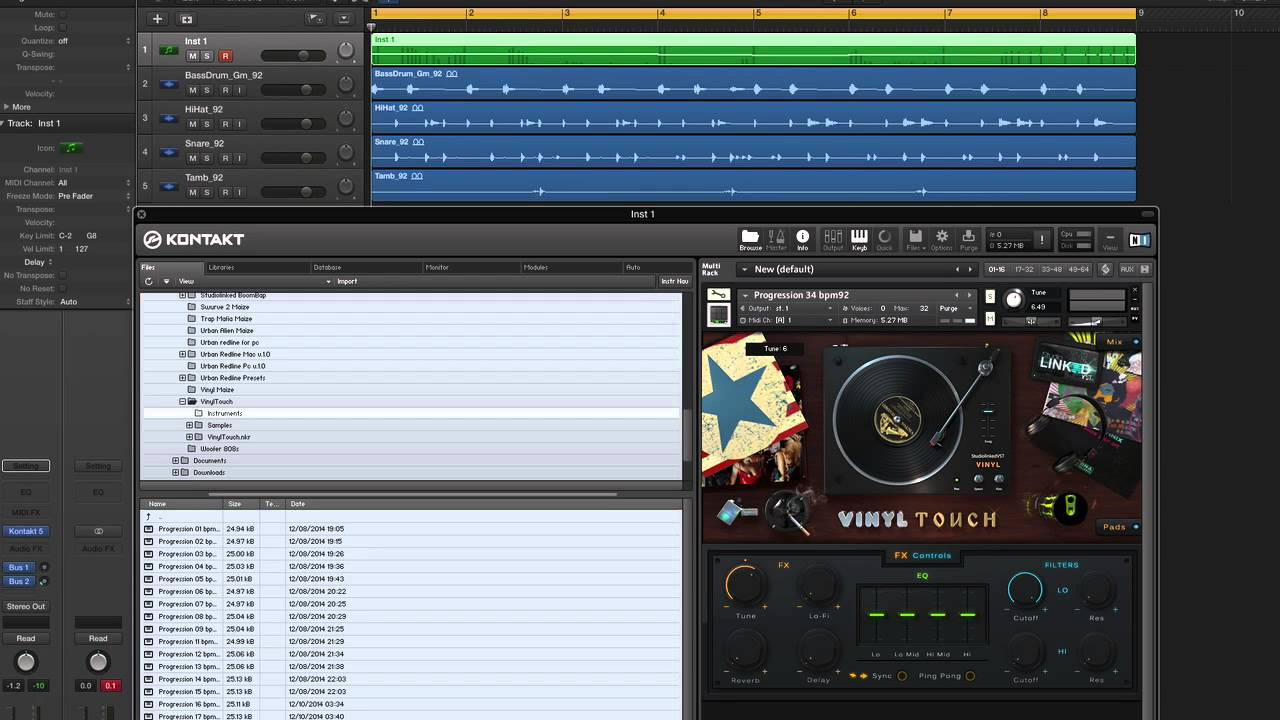 Vinyl Touch Virtual Instrument Youtube