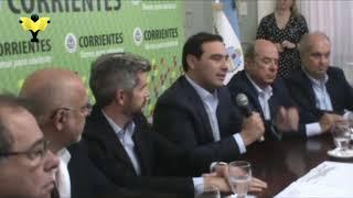 """""""Hoy vemos a Corrientes acompañada por el Gobierno nacional"""""""