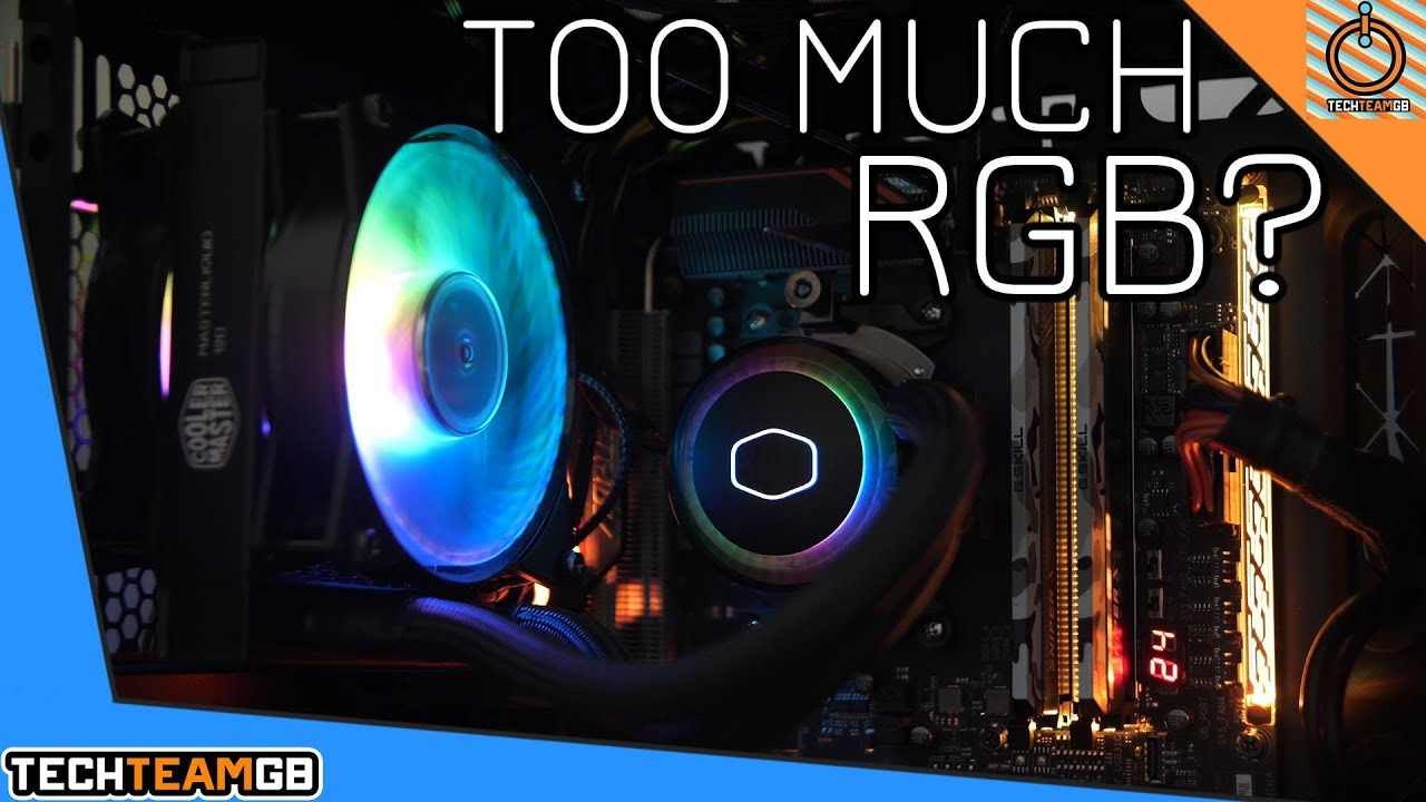 Styling too hard | Cooler Master ML120R RGB Review