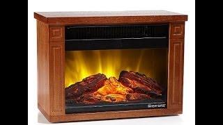 Heat Surge Mini Glo Led Fireplace