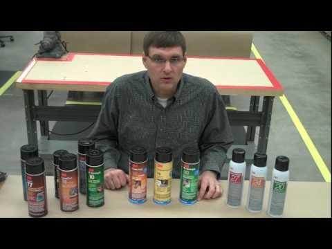 3M™ Aerosol Adhesives Overview