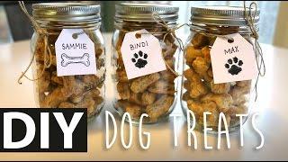 DIY Homemade Peanut Butter Dog Treats | ArtsyPaints
