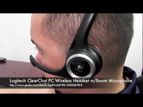 Logitech ClearChat PC Wireless Headset From Geeks.com!