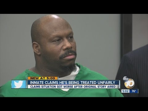 Inmate who claimed abuse at San Diego Jail sentenced