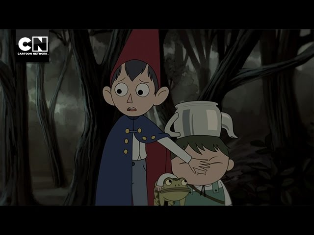 cartoon wall network The over garden