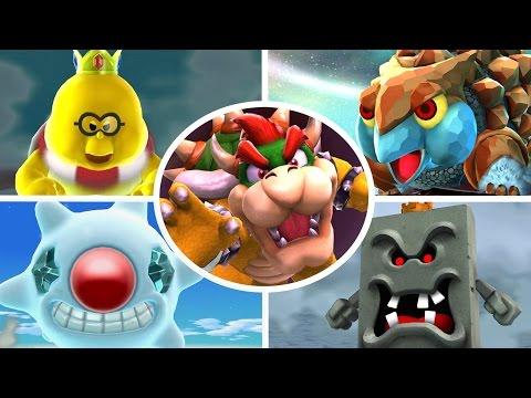 Super Mario Galaxy 2 HD - All Bosses (No Damage)
