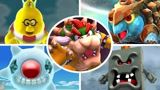 Super Mario Galaxy 2 HD - All Bosses (No Damage)