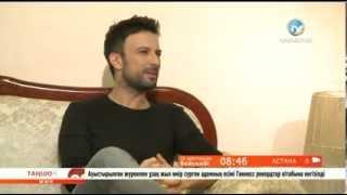 Tarkan - interview Kazakhstan 24 Dec. 2013 (with English translation)