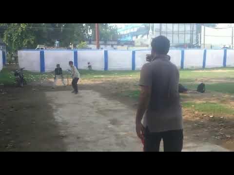 Farhan Khan Playing Cricket