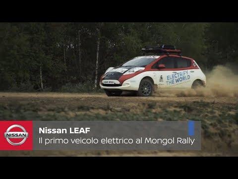 Nissan LEAF AT-EV: Il primo veicolo elettrico a partecipare al Mongol Rally