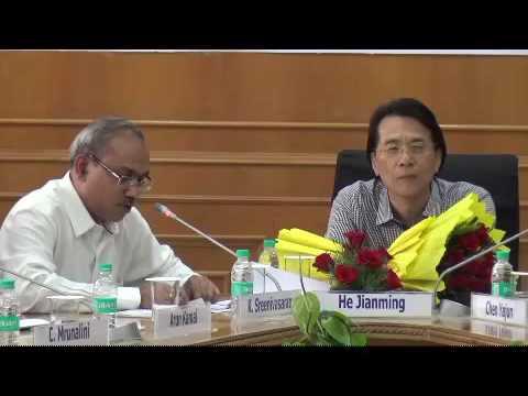 3rd Sino-Indian Literature Forum on 22 August 2016 at New Delhi