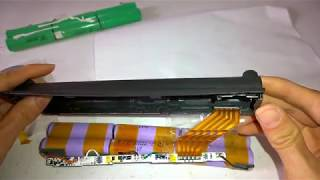 Rebuild laptop battery with 18650 cell