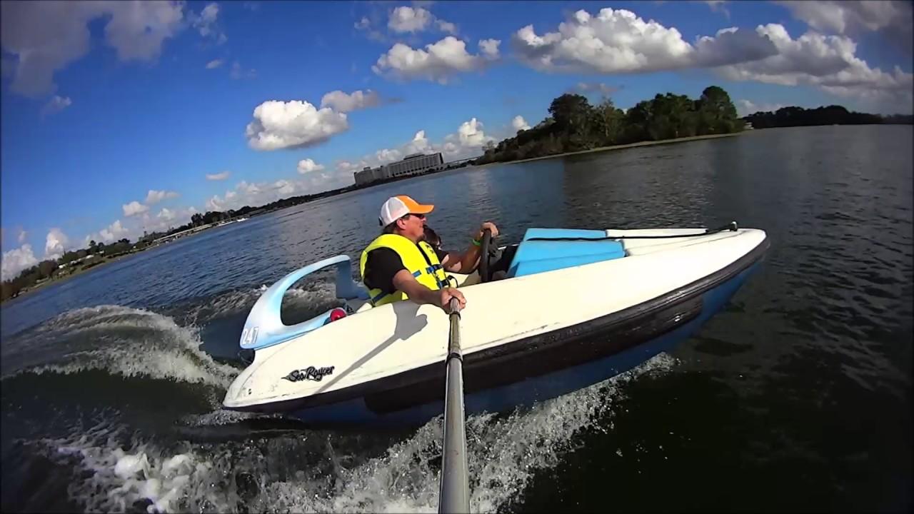 disney boat rental real fun cheap fun little mouse speed