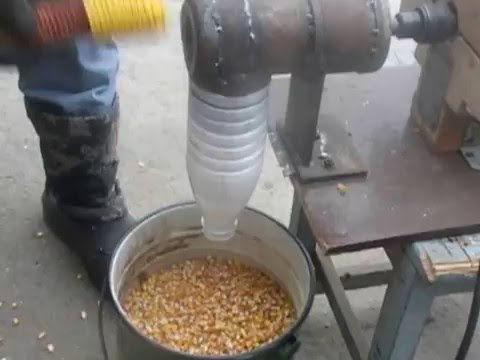Лущилка для кукурузы своими руками видео