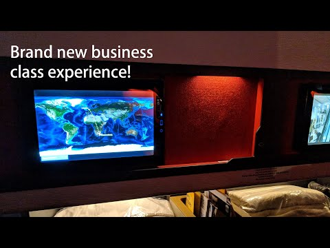 Brand New SAA Airbus Business Class Experience!!!