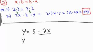 Old Algebra Videos: Fundamentals 1