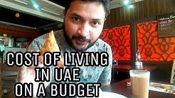 Cost of living in UAE on a BUDGET