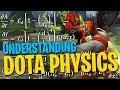 Understanding the Physics of Derter - DotA 2 Funny Moments