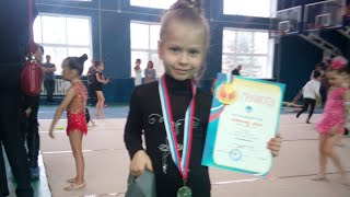 Первое соревнование АНИ ( 5 лет ) по ОФП по художественной гимнастике/ rhythmic gymnastics event