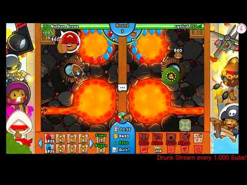 Bloons TD Battles - 5 Games! Sorry for being gone!!