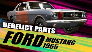 """FORD Mustang 1965"" Derelict Part Locations 