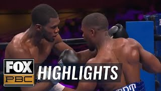 Jamontay Clark wins unanimous decision vs. Vernon Brown | HIGHLIGHTS | PBC ON FOX